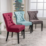 Tufted Wingback Dining Chair (Set of 2) - NH230992