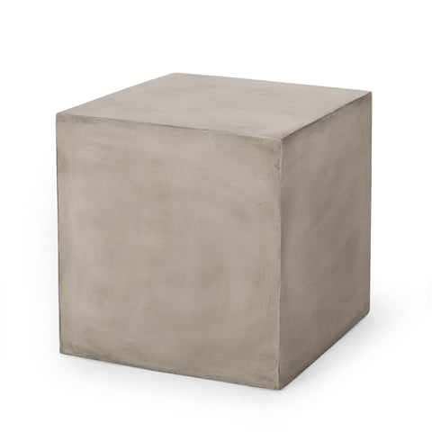 Outdoor Lightweight Concrete Side Table - NH704313