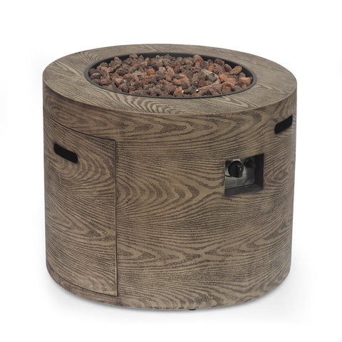 Outdoor 40,000 BTU Round Fire Pit - NH640413