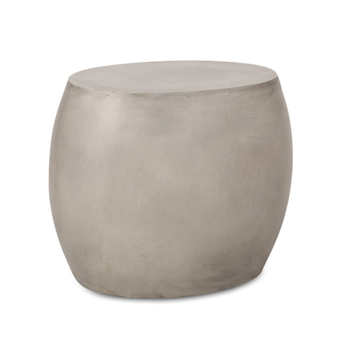 Outdoor Lightweight Concrete Side Table - NH504313