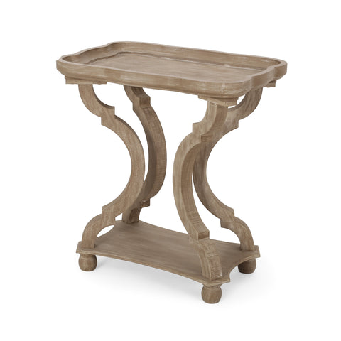 French Country Accent Table with Rectangular Top - NH281313