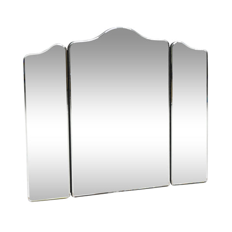 Modern Glam Foldable 3-Panel Vanity Mirror - NH294313