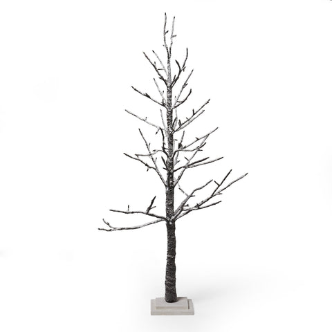 4-foot Pre-Lit 114 Warm White LED Artificial Christmas Twig Tree - NH276313