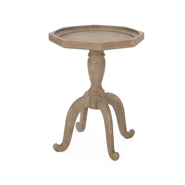 French Country Accent Table with Octagonal Top - NH481313