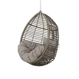 Outdoor and Indoor Wicker Hanging Chair with 8 Foot Chain (NO STAND) - NH394313