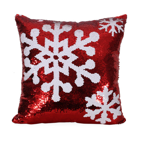 Glam Sequin Christmas Throw Pillow - NH097313