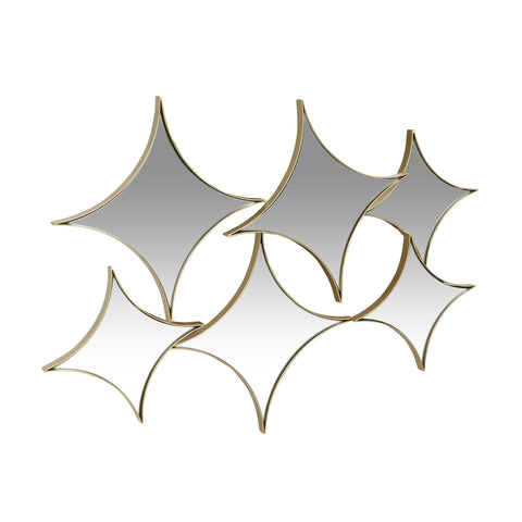 Modern Glam Star Cluster Wall Mirror - NH045313