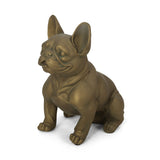 Outdoor French Bulldog Garden Statue - NH251313