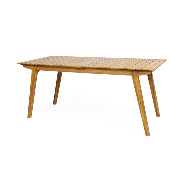Outdoor Rustic Acacia Wood Dining Table - NH902313