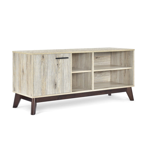 Mid-Century Modern TV Stand with Storage - NH159313