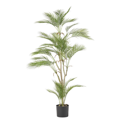 Artificial Tabletop Palm Tree, Green - NH882413