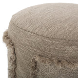Handcrafted Boho Patch Stool - NH204313