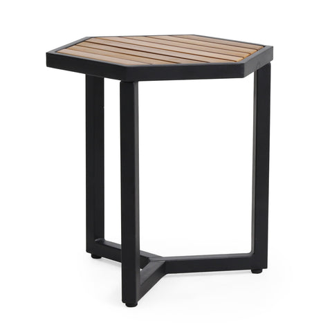 Outdoor Acacia Wood Side Table - NH117313