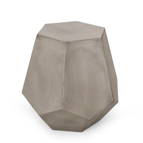 Outdoor Lightweight Concrete Side Table - NH904313