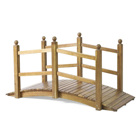 Outdoor Acacia Wood Bridge - NH500413