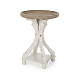 French Country Accent Table with Round Top - NH981313