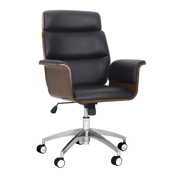 Mid-Century Modern Swivel Office Chair - NH723313