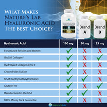 Load image into Gallery viewer, Hyaluronic Acid with BioCell Collagen® and MSM 60 capsules