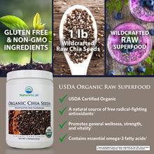 Load image into Gallery viewer, Organic Black Chia Seeds 38 servings