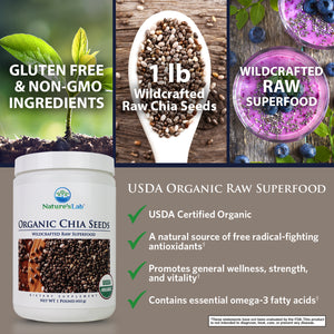 Organic Black Chia Seeds 38 servings