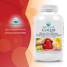 Load image into Gallery viewer, CoQ10 200mg 60 capsules