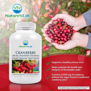 Cranberry 5400mg 180 capsules