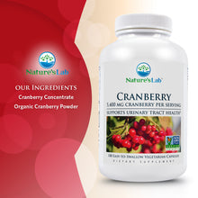 Load image into Gallery viewer, Cranberry 5400mg 180 capsules