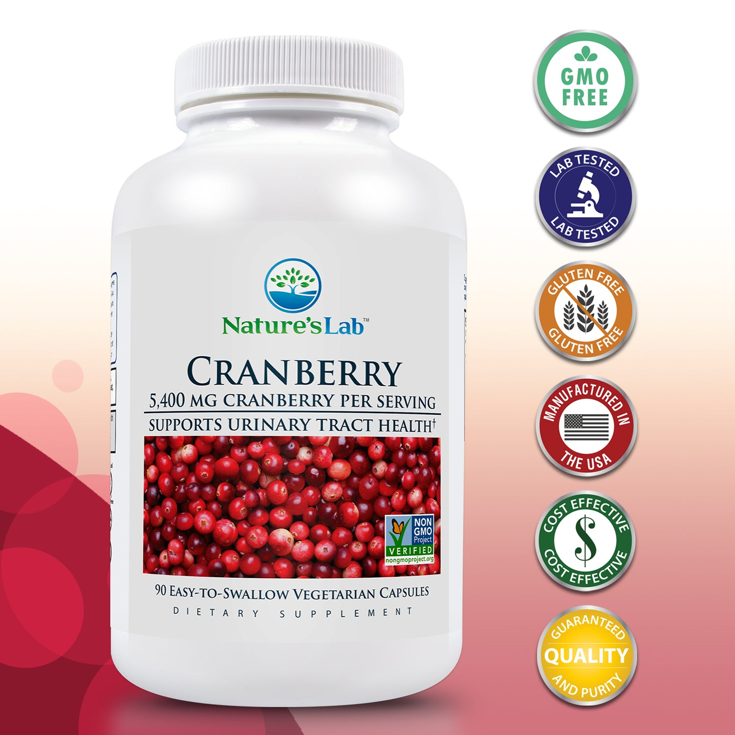 Cranberry 5400mg 90 capsules