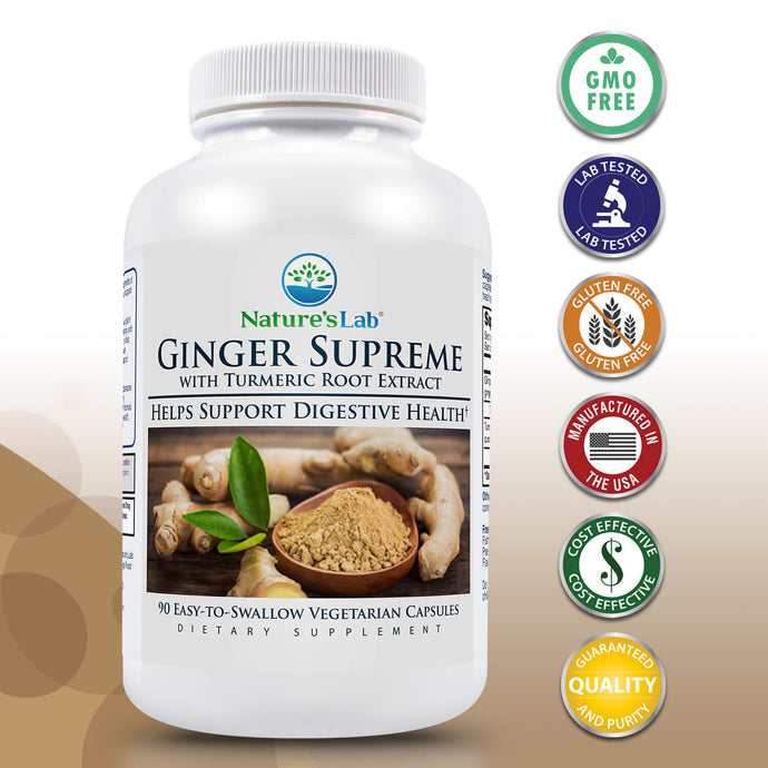 Nature's Lab Ginger Supreme 90 capsules Primary