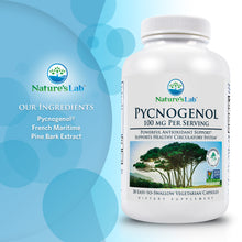 Load image into Gallery viewer, Pycnogenol® 100mg 30 capsules