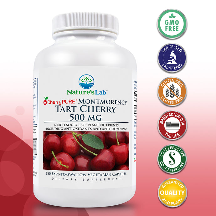Tart Cherry 500mg 180 capsules