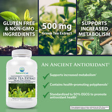 Load image into Gallery viewer, Green Tea Extract 90 capsules