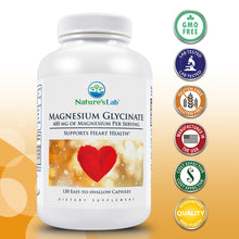 Load image into Gallery viewer, Magnesium Glycinate 120 capsules