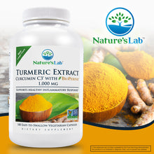 Load image into Gallery viewer, Turmeric Curcumin C3® with BioPerine® 180 capsules