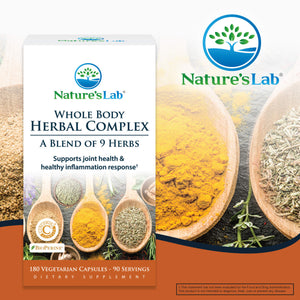 Whole Body Herbal Complex 180 capsules