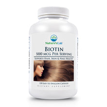 Load image into Gallery viewer, Biotin 120 capsules