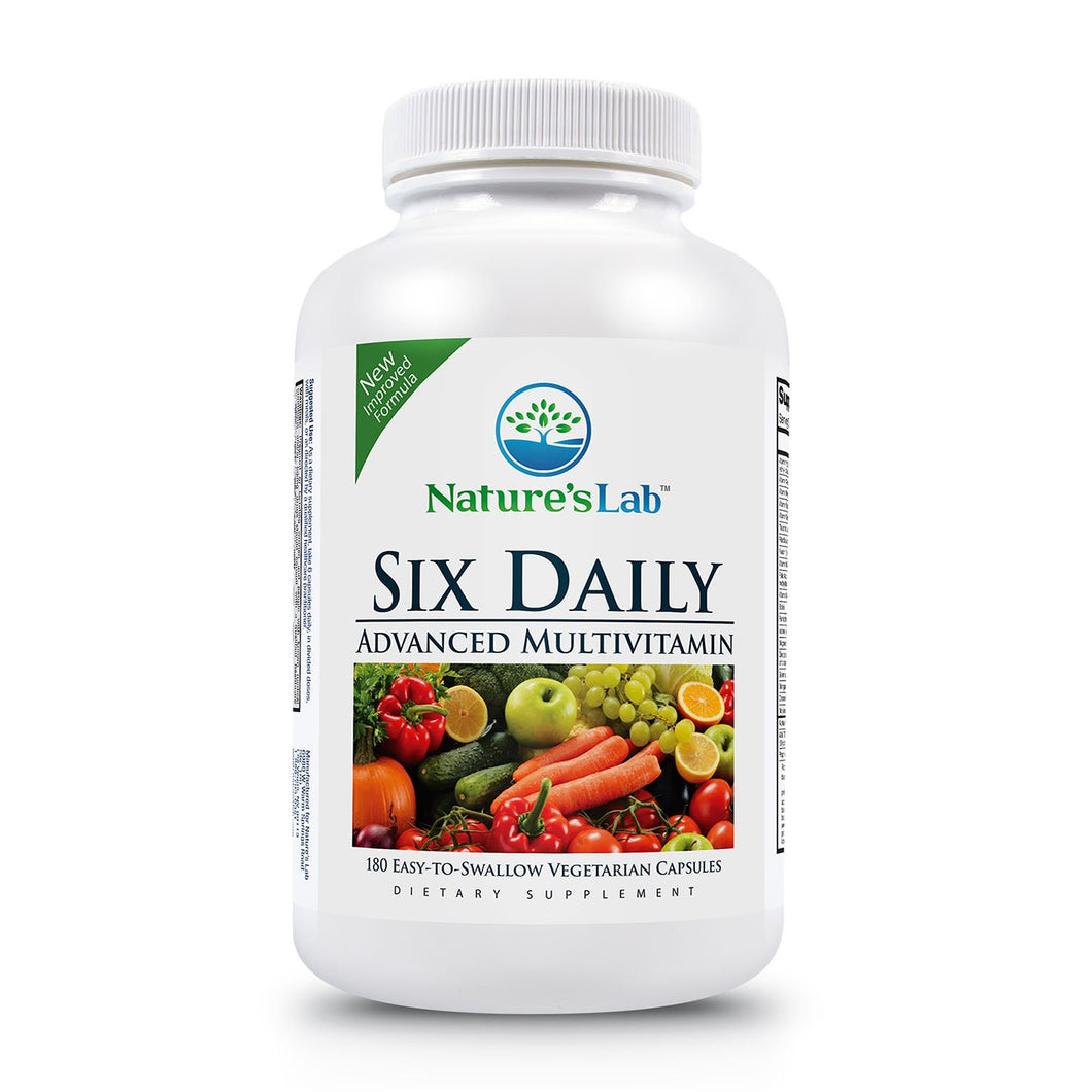 Nature's Lab Six Daily Advanced Multivitamin Bottle