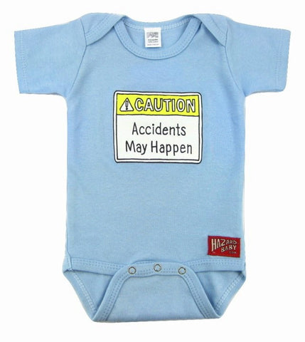 Accidents May Happen Onesie