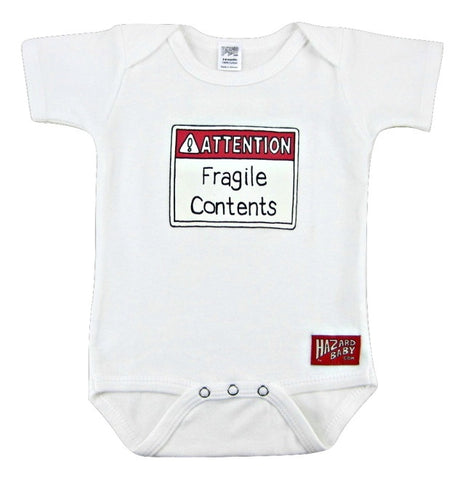 Fragile Contents Onesie