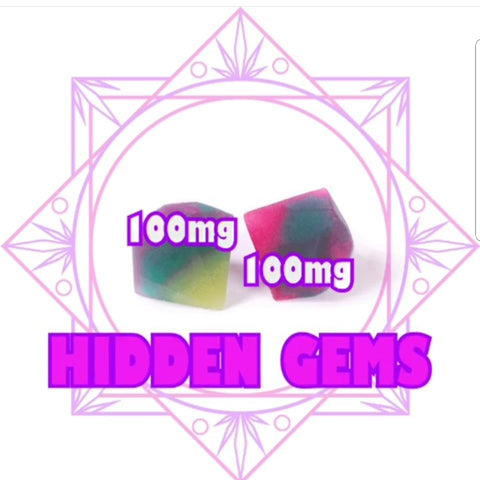 Products By SeC Hidden Gems 2 x 100mg THC