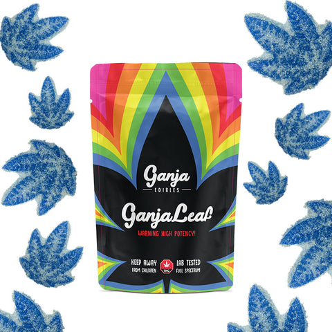 Ganja Leaf Sour Blueberry 1 x 1250mg THC