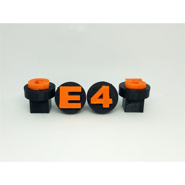 "1.5"" Display Plugs w/ Square Base"