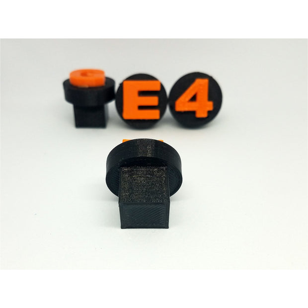 "1"" Display Plugs w/ Square Base"