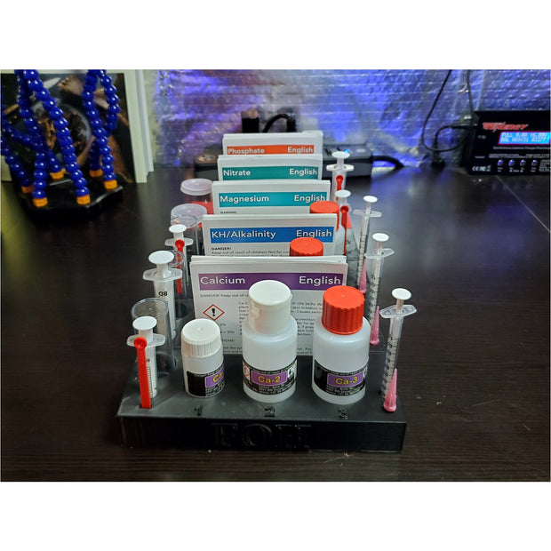 Salifert Test Kit Storage