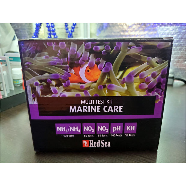 Marine Care Red Sea Test Kit Storage