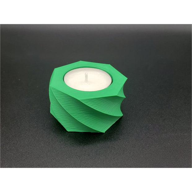 Spiral Mid Tealight Holder