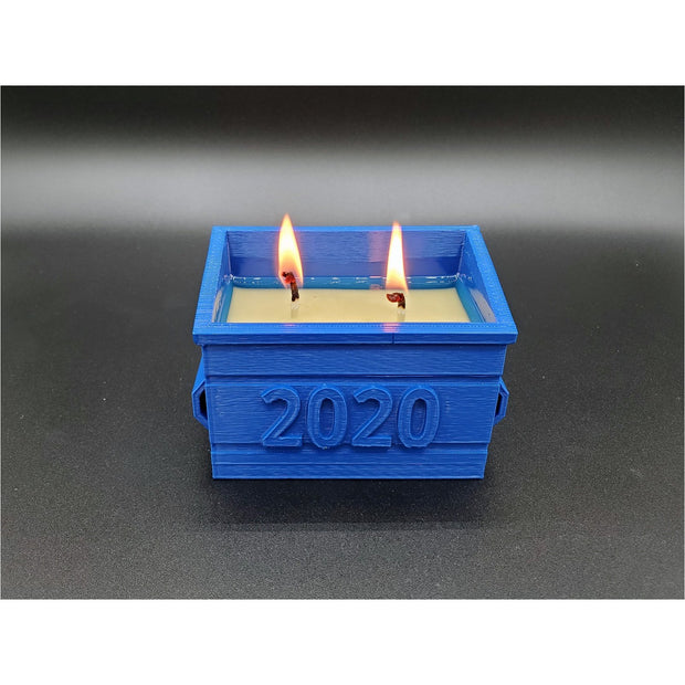 2020 Dumpster Fire Candle