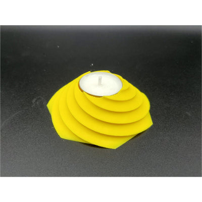 Wide Spiral Tealight Holder