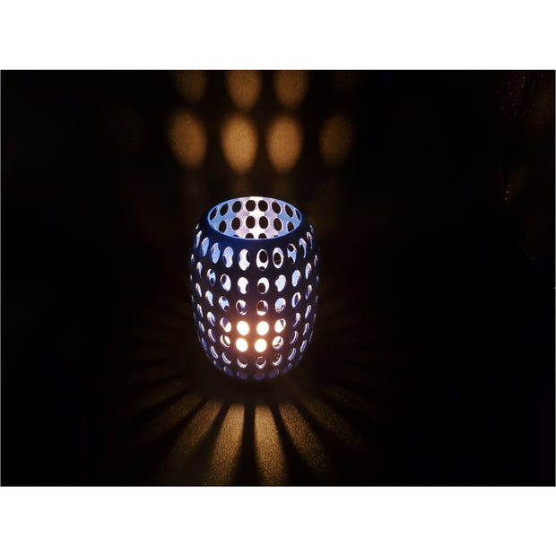 Holes Tall Tealight Shade