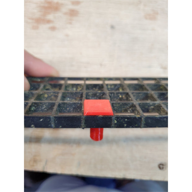 Egg Crate PVC End Caps With Screw